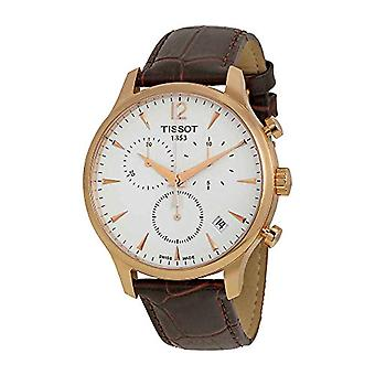 Tissot watch Analog-Digital stopwatch Man with a leather strap T 063.617.36.037.00