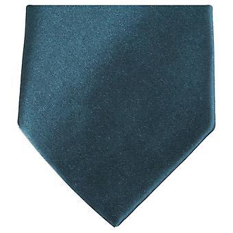 Knightsbridge Krawatten regelmäßige Polyester Krawatte - dunkelgrün