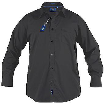 Duke Mens Corbin Kingsize Long Sleeve Classic Regular Shirt