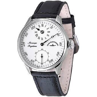 Zeno-Watch Herrenuhr Godat II Regulator white 6274Reg-e2
