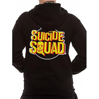 Suicide Squad Bomb Logo Bluza z kapturem