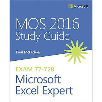 Mos 2016 Study Guide for Microsoft Excel Expert by Paul McFedries - 9