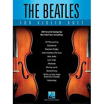 The Beatles For Violin Duet - 9781495089152 Book