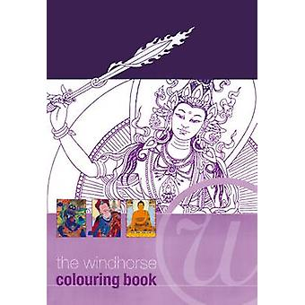 The Windhorse Colouring Book by Aloka - 9781909314696 Book