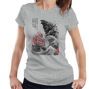 King Of The Monsters Godzilla Women es T-Shirt