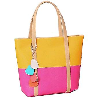 Designer large womens faux leather style summer bag