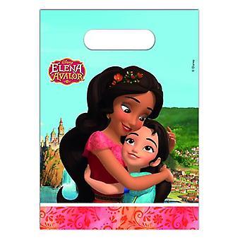 Elena di Avalor Caraibi festa sacchetti regalo sacchetti 6 pezzi bambini compleanno festa a tema