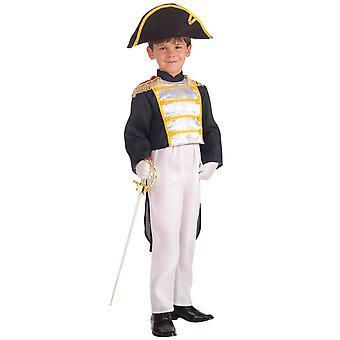 Koloniale General George Washington patriotischen alten Tag Buch Woche jungen Kostüm