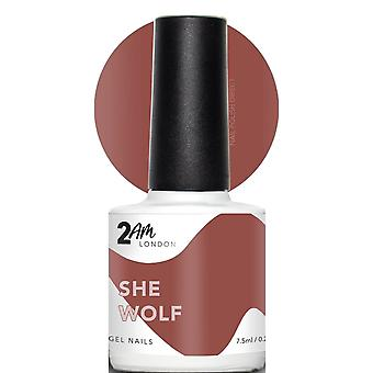 2AM London Put Me On Mute 2019 LED/UV Gel Polish Collection - She Wolf 7.5ml (2A011)
