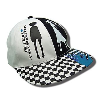 Baseball Cap - Black Rock Shooter - Two Sides Checkered Hat New ge31517