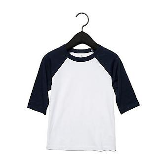 Bella + Canvas Toddler 3/4 Sleeve Baseball Tee