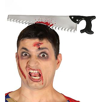 Saw Tiara Accessorio Halloween