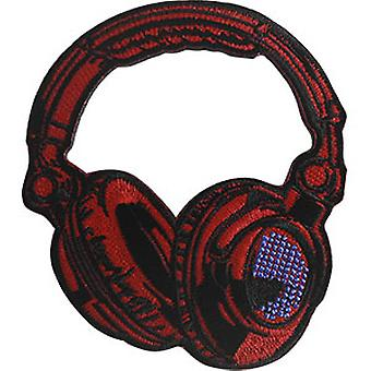 Patch - C&D - Music Themed Red Headphones New Gifts p-jsx-0028