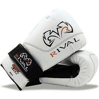 Kilpailevien nyrkkeily RB1 koukku ja silmukka Ultra laukku käsineet - valkoinen