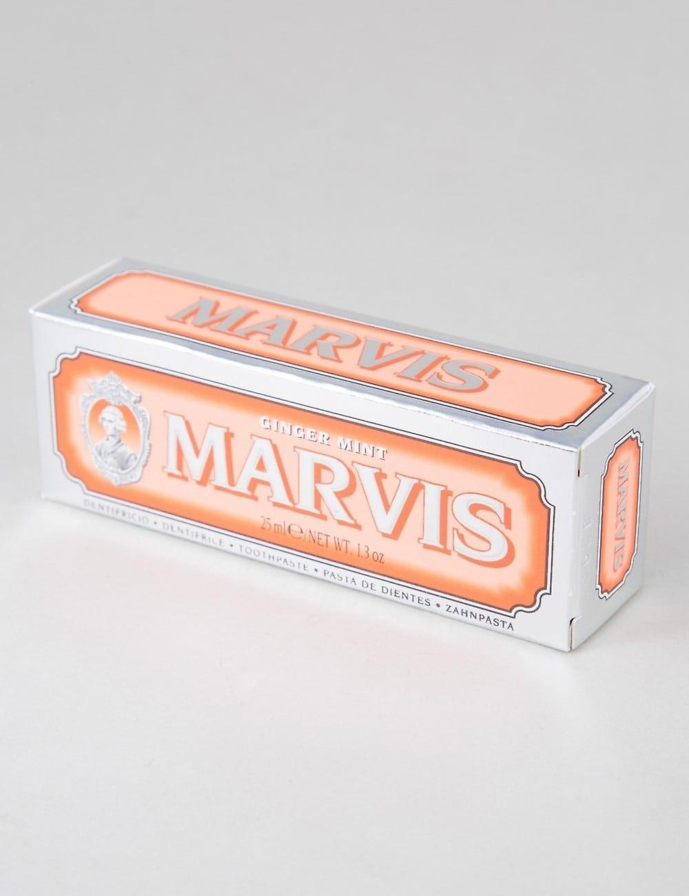 Marvis Ginger Mint - Travel Toothpaste (25ml)