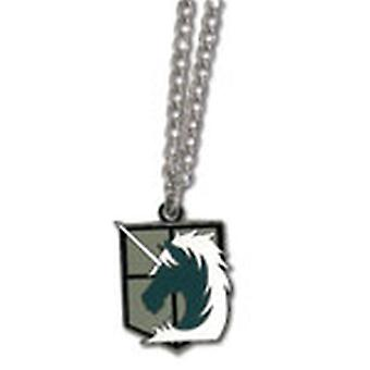 Necklace - Attack on Titan - New Military Police Anime Licensed ge35640