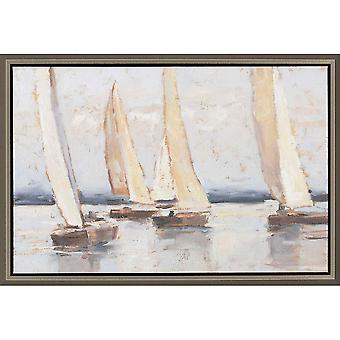 Sailing at dusk ii coastal style by paragon