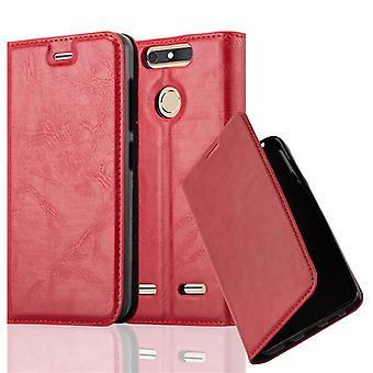 Custodia Cadorabo per la copertura per caso di .TE BLADE V8 MINI - Custodia del telefono con chiusura magnetica, funzione Stand e custodia per scheda - Case Cover Case Case Case Book Folding Style