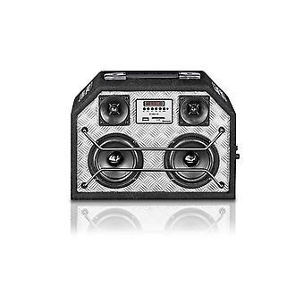 Força de BT audio Mac 210, Bluetooth® alto-falante, preto, 1 peça, Nova