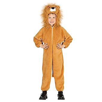 Boys Lion Cub Fancy Dress Costume