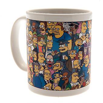 A Simpson család karakter bögre