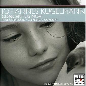 Kugelmann ・ ヨハネス ・ Kugelmann: Concentus ノビ [CD] USA 輸入