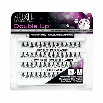 Ardell Double Up Individual Knot-Free Double Flares Short Black