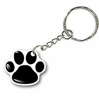 Door Cles Key Keychain Car Motorcycle House Paw Footprint Cat Paw Dog