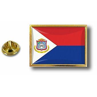 Pine PineS badge PIN-apos; s metalen vlag Saint Martin Sint Marteen