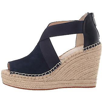 Kenneth Cole New York Women's Olivia Stretch Espadrille Wedge Sandal