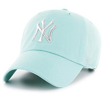 47 brand ontspannen fit Cap - CLEAN UP New York Yankees tiffany