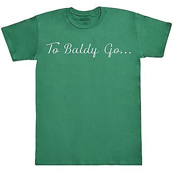 לקירח ללכת...-חולצת Mens