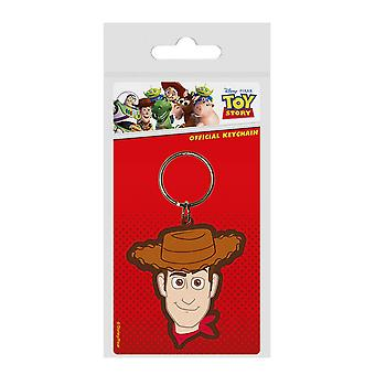 Toy Story 4 Woody rubber keyring
