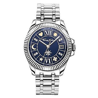 Thomas Sabo ure Thomas Sabo blå Lucky Charm Dame Watch WA0354-201-209-33
