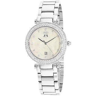 Jivago Women's Parure Peach Mother of Pearl Dial Watch - JV5313