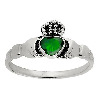 Celtic Irish Claddagh Love Loyalty And Friendship Heart Ring