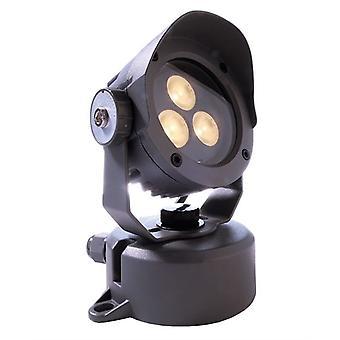 LED Spotlight Power Spot IV 5 W 3000 K D 90 mm donker grijs aluminium IP65