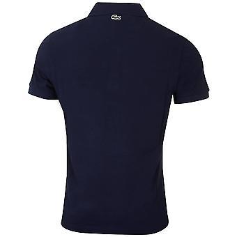Lacoste Mens 2020 Bordado Logo Algodão Piqué Camisa Polo