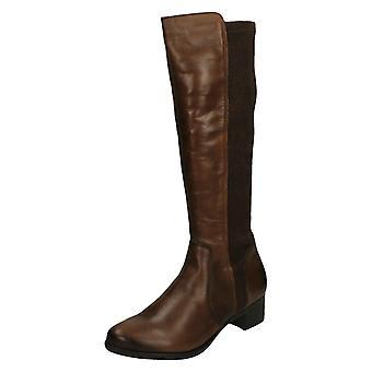 Damer Remonte knæ høje støvler R5174