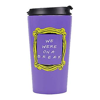 Friends Travel Mug We Were On A Break Frame Logo nouveau Métal officiel Boxé
