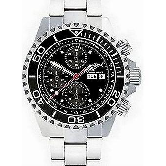 CHRIS BENZ - Diver Watch - DEEP 500M CHRONOGRAPH - CB-500A-C1-MB