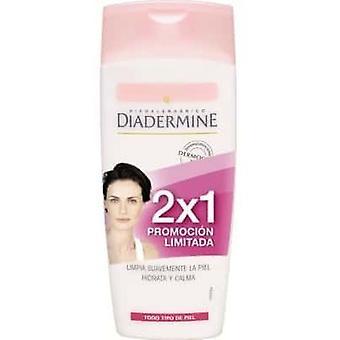 Diadermine Essential Care 2 Piece Pack Delikatne mleczko oczyszczające 2x1