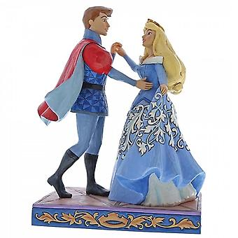 Disney Traditions Swept Up In The Moment Aurora & Prince Figurine