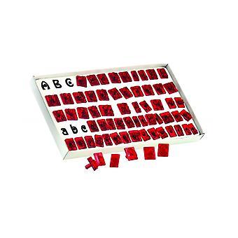 JEM Alphabet Letter Upper & Lower Case Cutter Set Of 64
