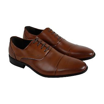 Unlisted by Kenneth Cole Stun Ner Mens Brown Dress Lace Up Oxfords Shoes