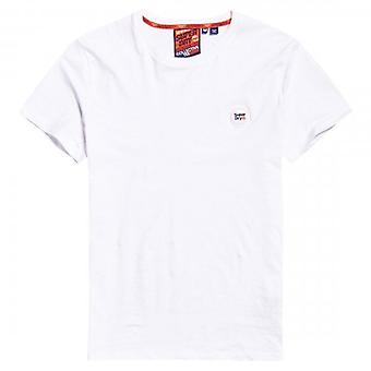 Superdry Collective Logo T-Shirt Blanc 01C