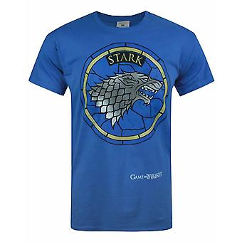 Game Of Thrones House Stark Blue Men's T-Shirt