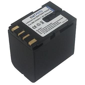 Dot.Foto JVC BN-V428, de batterij van de vervanging van de BN-V428U - 7.2V / 3600mAh