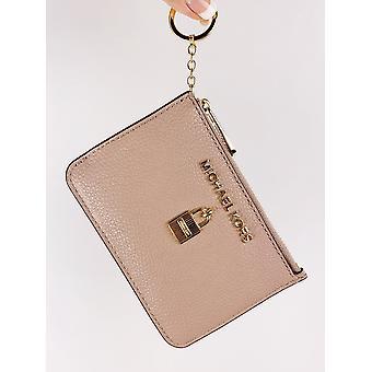 مايكل كورز مجموعة جيت السفر الرمز البريدي عمله المحفظة معرف حلقة مفاتيح حامل بطاقة الظبي
