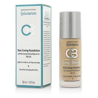 Exuviance CoverBlend Skin Caring Foundation SPF20 - # Bej cald 30ml/1oz